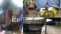 วอนช่วย 2 ยายหลาน อดมื้อกินมื้อ บ้านไม่มีไฟฟ้า ไม่มีห้องน้ำ หลังคารั่ว