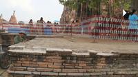 โบราณสถานวัดไชยฯ เสียหายอีก หลังนทท.แห่เที่ยวตามรอยแม่หญิงการะเกด