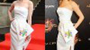 นุ่น วรนุช VS เจนนิเฟอร์ ลอว์เรนซ์ ประชันโฉม ในเดรส Dior