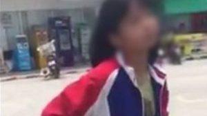 สลดใจ!! คลิปเด็กสาววัยรุ่นก้าวร้าว หลังถูกจับได้ขโมยของ