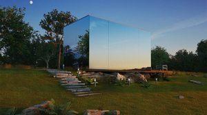 บ้านสำเร็จรูป บ้านกระจกสุดหรู พร้อมอยู่ ในเวลา 8 ช.ม.!