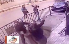 ตำรวจอียิปต์รับตัวเด็กที่ตกจากอาคารชั้น 3