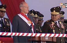 รัฐสภาเปรูเริ่มพิจารณาถอดถอนผู้นำแล้ว