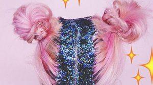 เทรนด์ใหม่ Galaxy Hair วิบวับด้วยกากเพชร