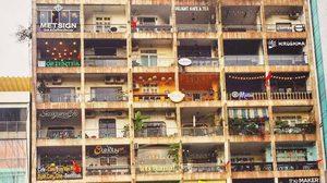 มีเสน่ห์อย่างแรง!! The Cafe Apartment คาเฟ่บนอพาร์ทเม้นท์ในโฮจิมินห์