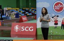 """เอสซีจี จัดกิจกรรม """"ปั้นเด็ก @SCG Badminton Academy"""""""