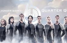 ชูสามนิ้วไปพร้อมกันใน The Hunger Games: Catching Fire