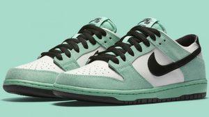 กลับมาอีกครั้งกับ Nike SB Dunk Low พร้อมสีใหม่ Sea Crystal