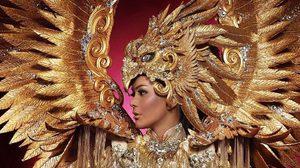 อย่าประมาท! GARUDA Unity in Diversity ชุดประจำชาติอินโดนีเซีย ปีกติดไฟเรืองแสงในความมืด