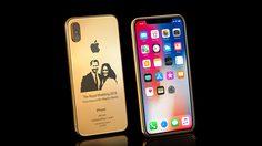 iPhone X Elite Gold Royal Wedding Limited Edition รุ่นพิเศษฉลองพิธีเสกสมรสของเจ้าชายแฮร์รี่