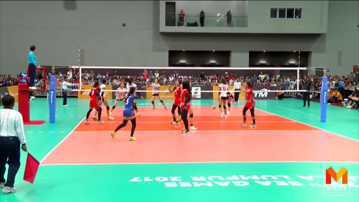 ทีมตบลูกยางสาวไทย คว้าทองวอลเลย์บอลหญิงซีเกมส์ อีกสมัย