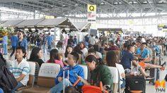 นักท่องเที่ยวแน่น! สุวรรณภูมิ ส่งท้ายเทศกาลตรุษจีน