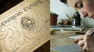 เหมือนโคตร!! บัตร American Express จากศิลปินคู่หูชาวฝรั่งเศส