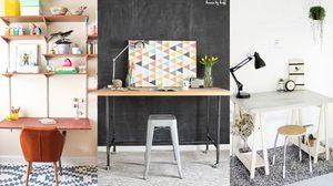 ไอเดียแต่งโต๊ะทำงาน โต๊ะทำการบ้าน หลากสไตล์ กระตุ้นไอเดียบรรเจิด