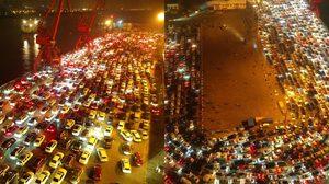 มหกรรมรถติดแห่งชาติ ที่ประเทศจีนรถติดกว่า 11,000 คัน นรกมาก ๆ