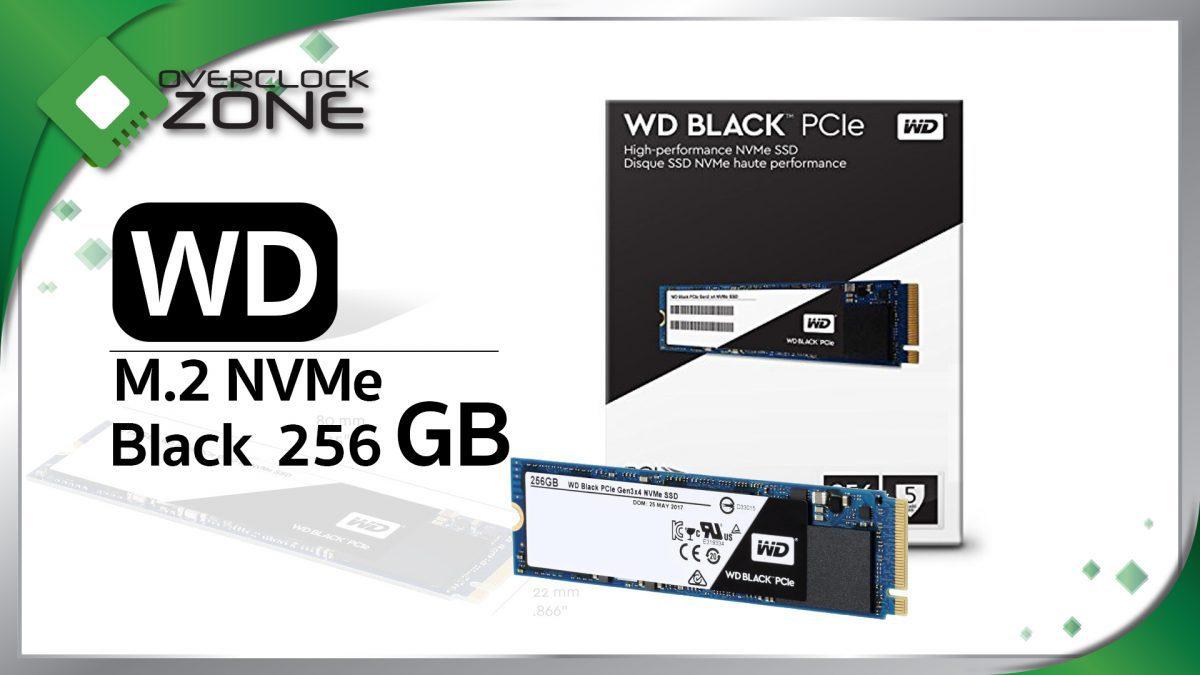 รีวิว WD Black PCIe NVMe 256GB : Solid State Drive