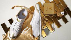 รองเท้า Onitsuka Tiger ธีมสีเงินและสีทอง - Limited Box Set ที่ไทยเท่านั้น !!