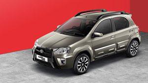 Toyota ส่ง Etios Cross X-Edition เปิดตัวที่อินเดีย