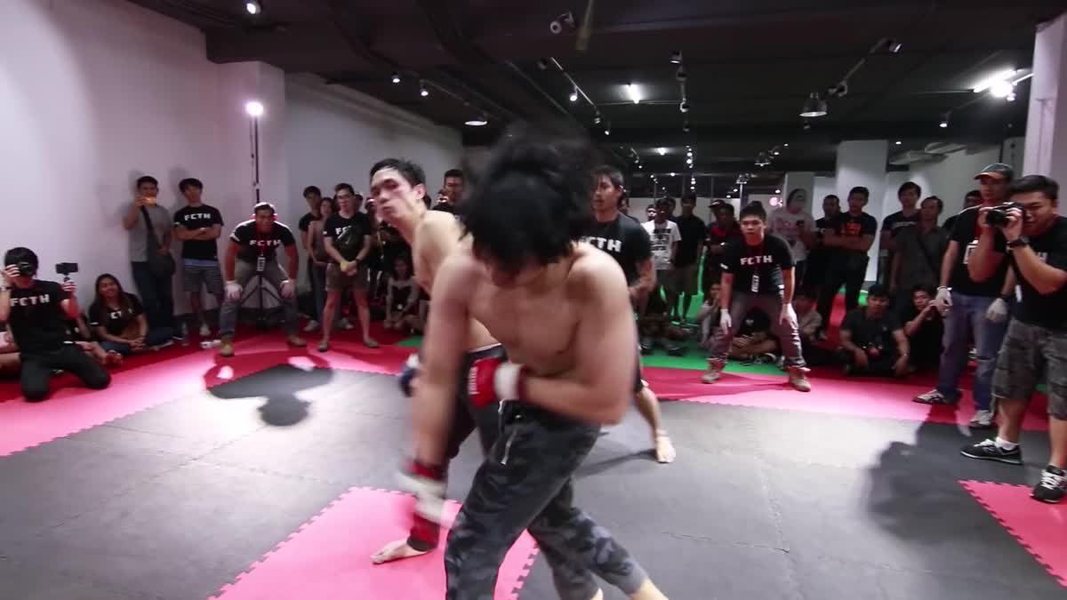 Fight Club Thailand ส่งท้ายปี เกย์ชื่อตู้ x ดร. ไอซ์ คู่ที่ 196