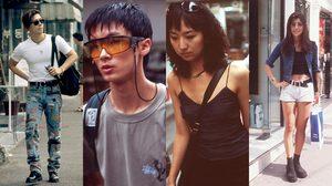 รวมแฟชั่นแนวๆ ของหนุ่มสาวชาวเกาหลีใต้ในยุค 90 ที่ดูเฟี้ยวฟ้าวกันไม่เบา