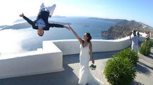 เมื่อหนุ่มฟรีรันนิ่ง แต่งงานกับ สาวโยคะ ภาพพรีเวดดิ้ง จึงได้ท่ายากแบบนี้!!
