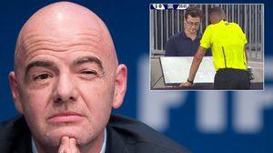 ได้ข้อสรุปแรก! FIFA ยันเตรียมใช้ภาพช้าช่วยตัดสินจังหวะปัญหา (VARs)