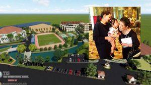 """ส่อง โรงเรียนนานาชาติ 1.2 พันล้านของแม่สามี """"นุ้ย สุจิรา"""" สร้างเพื่อหลานรัก น้องรดา"""