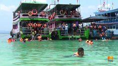 มั่นใจไร้ฉลาม ! นักท่องเที่ยวแห่เที่ยวทะเลตรังคึกคัก