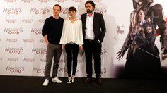 """""""จัสติน เคอร์เซล"""" นำทัพนักแสดงเดินสายโปรโมท """"Assassin's Creed"""" ทั้งในอังกฤษและสเปน"""