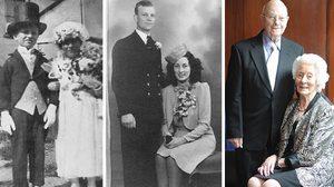 รักแท้มีอยู่จริง รูปเทียบภาพสมัยก่อนและปัจจุบัน สุดโรแมนติกของเหล่าคู่รัก