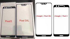 เผยภาพกระจกหน้า Google Pixel 3 และ 3 XL จะมาพร้อมรอยบากบนหน้าจอ!!