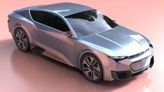 เปิดภาพ Render Audi GT 2020 ที่ดูอย่างกับ Audi 100 Coupe S จากอนาคต