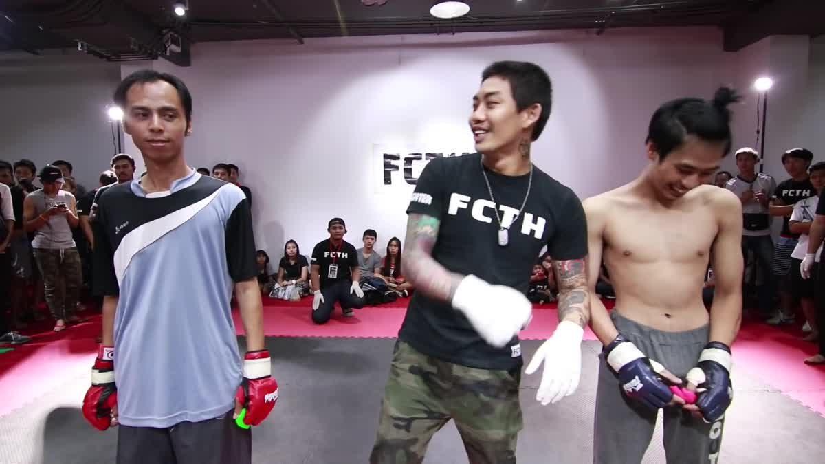 Fight Club Thailand ส่งท้ายปี ปลั๊ก ใจล้วน x เบ๊นซ์ หัวจุก คู่ที่ 182