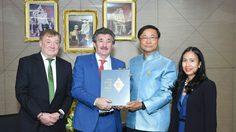 รัฐมนตรีไอร์แลนด์เข้าพบรัฐบาลไทยหารือความร่วมมือด้านการพัฒนาทรัพยากรมนุษย์ด้านเทคโนโลยีดิจิทัล