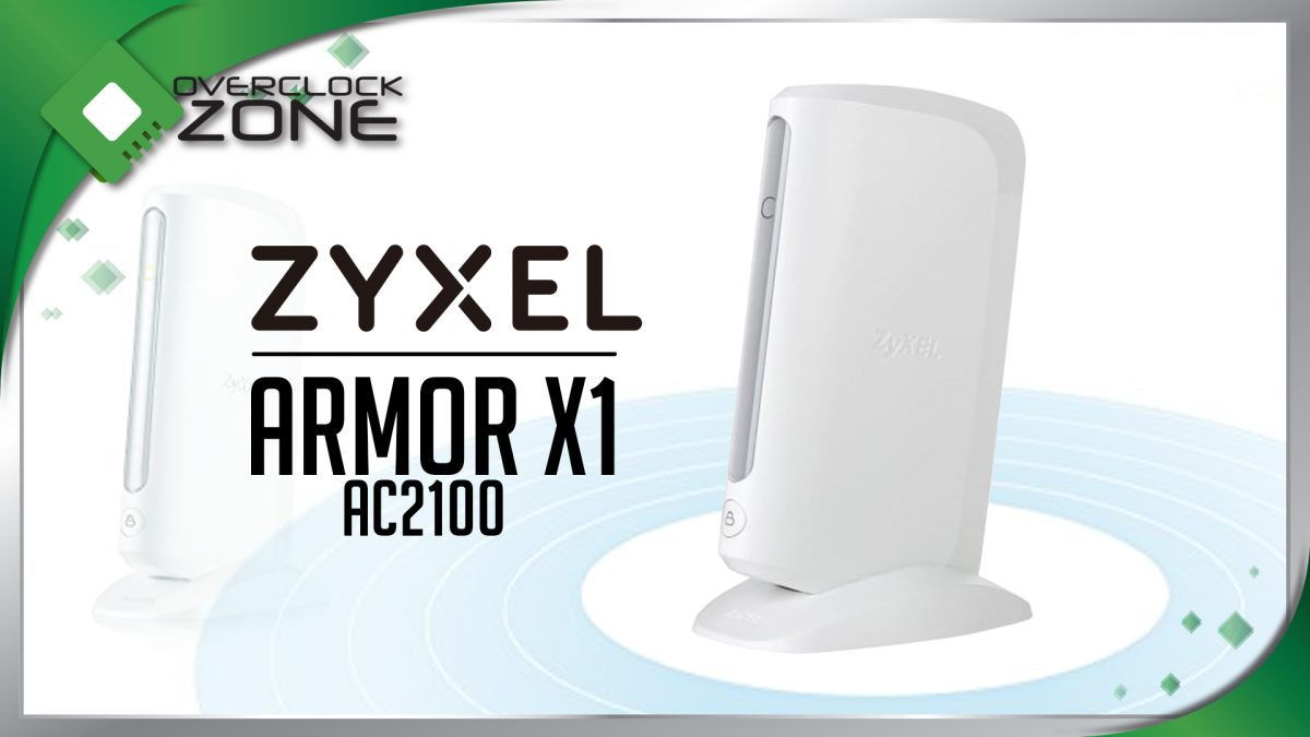 รีวิว ZYXEL Armor X1 : AC2100 Wireless Range Extender