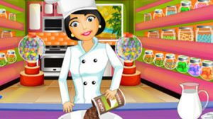 เกมส์ทำอาหาร ทำขนมพายช็อคโกแลต
