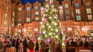 ภาพการตกแต่ง เทศกาลคริสต์มาส จาก 12 โรงแรมทั่วโลก