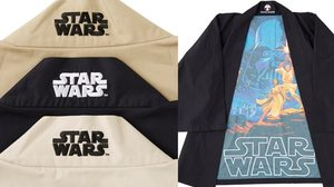 เสื้อคลุม Star Wars สไตล์ญี่ปุ่นสุดเท่ ด้านในเสื้อมีภาพจากหนัง Star Wars เต็มตัว