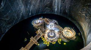 อลังการ! สวนสนุกใต้ดิน สร้างจากเหมืองร้างหลายพันปี เมืองทูร์ดา โรมาเนีย
