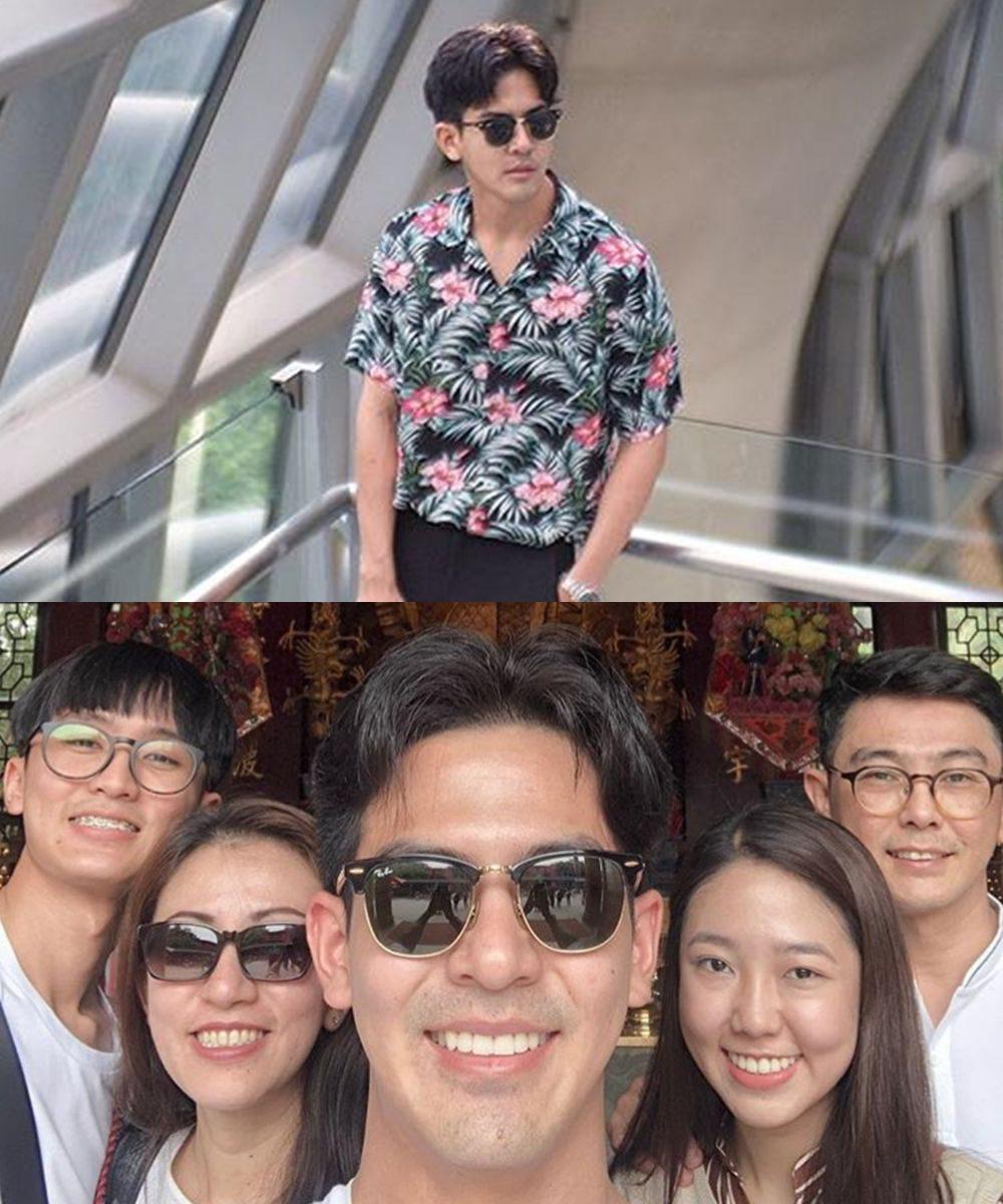 เต้ย พงศกร เที่ยงฮ่องกงกับครอบครัว