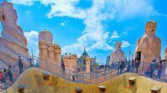 ตึกประหลาด คาซา มิลา  สถาปัตยกรรมมรดกโลก
