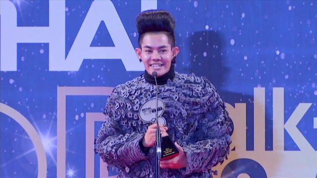 เก่ง ธชย ประทุมวรรณ รับรางวัล Top Talk About Artist