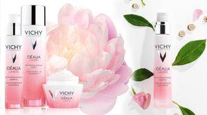 ผิวขาวกระจ่างใส อมชมพู ด้วย ลูมิเย่ ไวท์เทนนิง จากน้ำแร่ Vichy 15 แร่ธาตุ!!