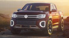 Volkswagen Atlas Tanoak Pickup Concept กระบะต้นแบบ ที่ให้กำลังสูงสุด 276 แรงม้า