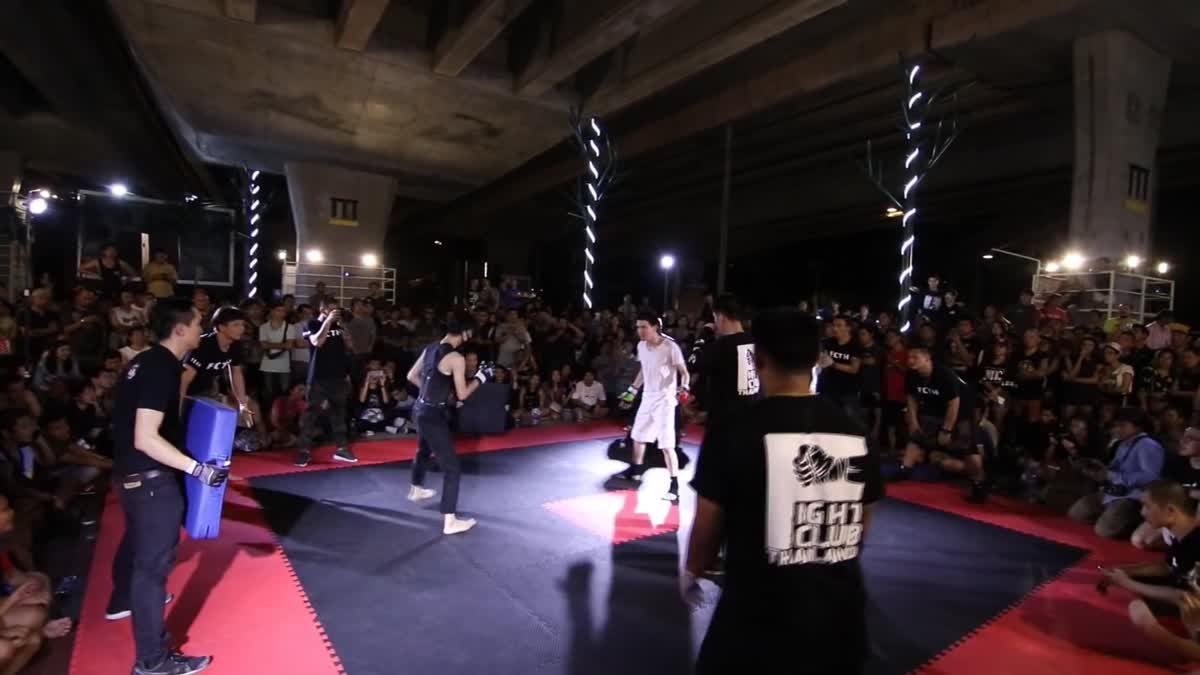 Fight Club Thailand ประชาชน ดร.ไอซ์ x ทาโร่ โรนิน คู่ที่ 100