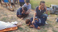 สุดสะเทือนใจ! หนุ่มกู้ชีพรับแจ้งมีอุบัติเหตุ ไปถึงพบพ่อตัวเองเสียชีวิต