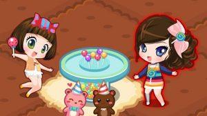 เกมส์แต่งบ้าน Candy House