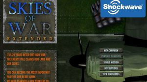 เกมส์  Skies of War Extended