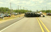อุบัติเหตุระหว่างตำรวจสหรัฐฯ ไล่ล่าผู้อพยพ
