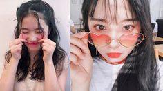 ถ่ายรูปแบบสาวเกาหลี